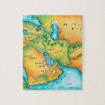 Mapa del Oriente Medio Puzzle
