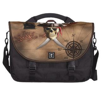 Mapa del pirata bolsas de portatil