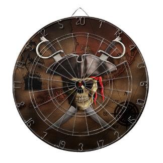 Mapa del pirata tablero dardos