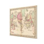 Mapa del proj de Mercator del mundo de Mitchell Lona Estirada Galerias