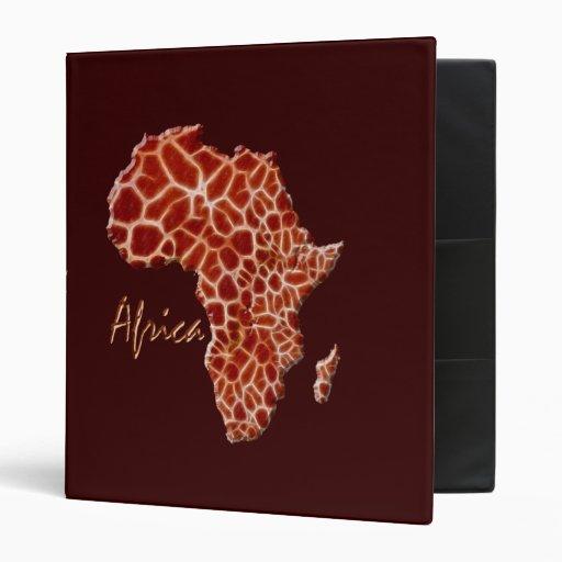 MAPA del Punto-Efecto de la jirafa de la carpeta d