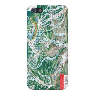 mapa del rastro del vail iPhone 5 protector