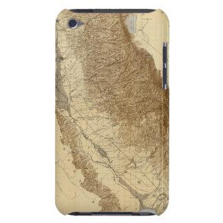 Mapa del San Joaquín iPod Touch Case-Mate Protectores