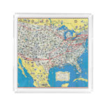 Mapa del sistema de American Airlines