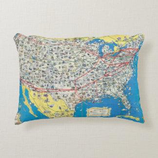 Mapa del sistema de American Airlines Cojín
