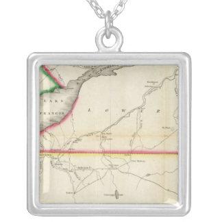 Mapa del St. Lorenzo y país adyacente del río Collares Personalizados