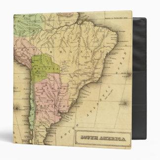 """Mapa del sur de AmericaOlney Carpeta 1 1/2"""""""