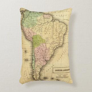 Mapa del sur de AmericaOlney Cojín Decorativo