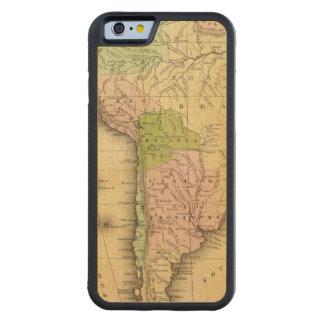 Mapa del sur de AmericaOlney Funda De iPhone 6 Bumper Arce
