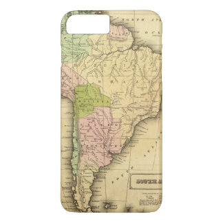 Mapa del sur de AmericaOlney Funda iPhone 7 Plus