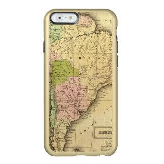 Mapa del sur de AmericaOlney Funda Para iPhone 6 Plus Incipio Feather Shine