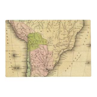 Mapa del sur de AmericaOlney Salvamanteles