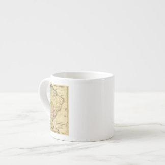 Mapa del sur de AmericaOlney Taza Espresso
