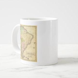 Mapa del sur de AmericaOlney Taza Grande