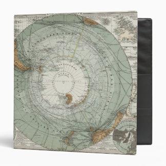 """Mapa del sur de la región polar carpeta 1 1/2"""""""