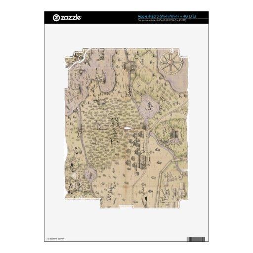 Mapa del terreno áspero iPad 3 skins