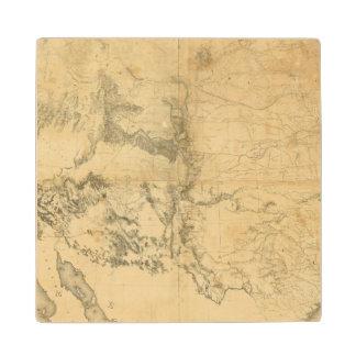 Mapa del territorio de los Estados Unidos