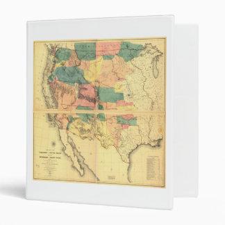 """Mapa del territorio de los Estados Unidos (1858) Carpeta 1"""""""