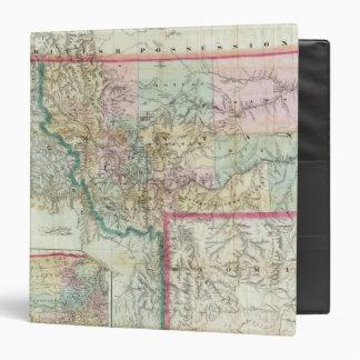 "Mapa del territorio de Montana Carpeta 1 1/2"""