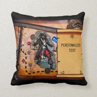 Mapa del tesoro del pirata almohadas