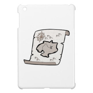 Mapa del tesoro iPad mini cárcasa