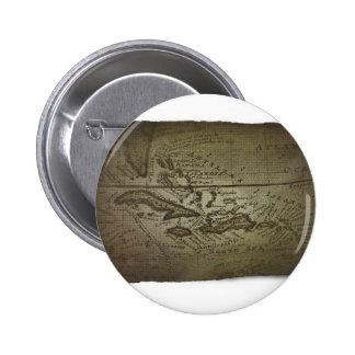 Mapa del tesoro chapa redonda 5 cm