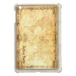 Mapa del tiempo de Olde/nuestro mundo Customizeabl iPad Mini Cárcasas