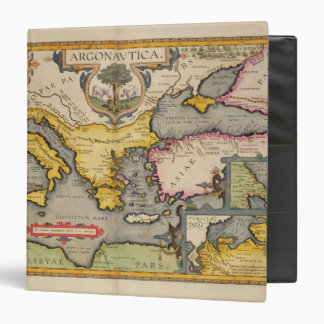 """Mapa del viaje de los argonautas carpeta 1 1/2"""""""