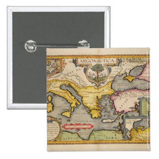 Mapa del viaje de los argonautas pins