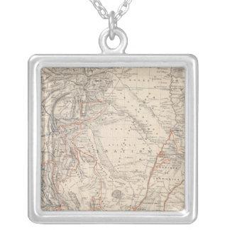 Mapa del viaje del Dr V Martin de Moussy Grímpola