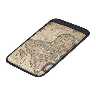 Mapa del vintage de África (1689) Funda Macbook Air