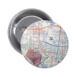 Mapa del vintage de ALBUQUERQUE Pins