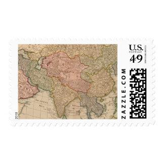 Mapa del vintage de Asia 1799