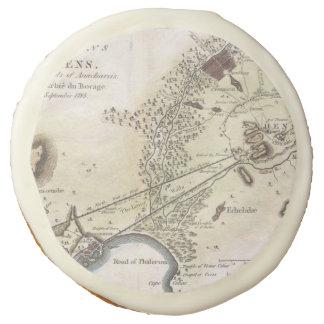 Mapa del vintage de Atenas (1784)