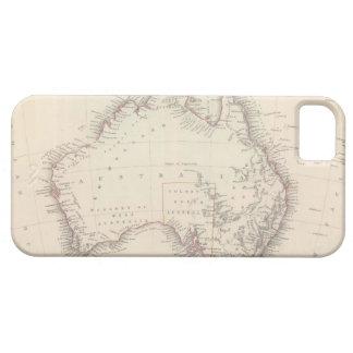 Mapa del vintage de Australia (1848) Funda Para iPhone SE/5/5s