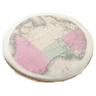 Mapa del vintage de Australia (1862)