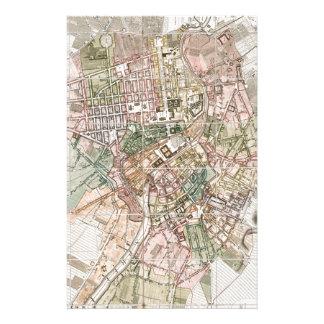 Mapa del vintage de Berlín (1811) Papeleria