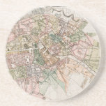 Mapa del vintage de Berlín (1811) Posavasos Personalizados