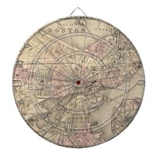 Mapa del vintage de Boston (1880)