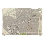 Mapa del vintage de Bruselas (1837) iPad Mini Coberturas