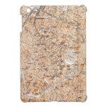 Mapa del vintage de Bruselas (1905) iPad Mini Fundas