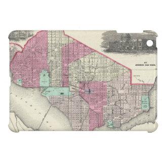 Mapa del vintage de C.C. de Washington (1866) iPad Mini Protector