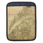 Mapa del vintage de California (1650) Funda Para iPads