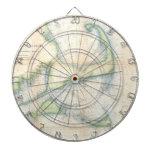 Mapa del vintage de Cape Cod (1857) Tablero Dardos