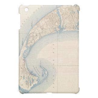 Mapa del vintage de Cape Cod más bajo