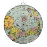 Mapa del vintage de Cape Cod Tabla Dardos
