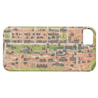 Mapa del vintage de Edimburgo Escocia 1935 iPhone 5 Case-Mate Funda