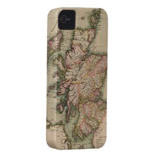 Mapa del vintage de Escocia (1814) iPhone 4 Cobertura
