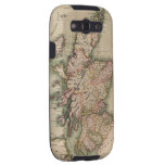 Mapa del vintage de Escocia (1814) Samsung Galaxy S3 Coberturas