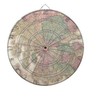Mapa del vintage de Escocia meridional (1818) Tabla Dardos